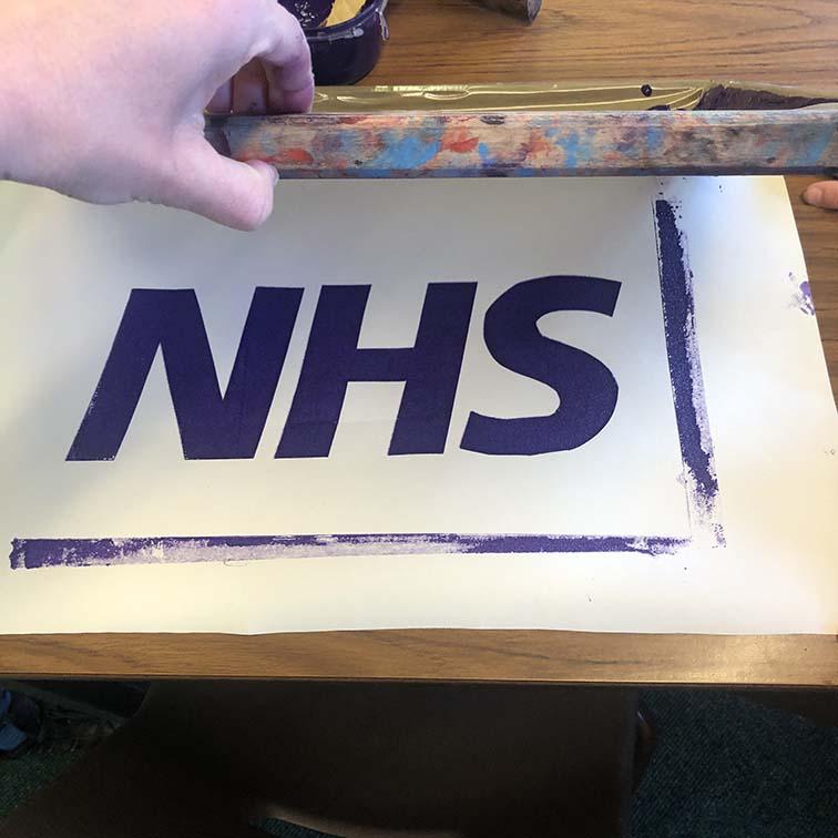 NHS Screenprinting Project Thumbnail